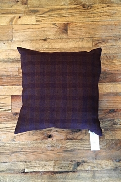 Ró   Maroon Flannel Pillow - Product List Image