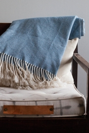 Ró   Vintage Wool Throw - Front full body