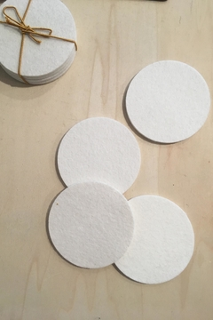 Ró   Wool Felt Coasters - Alternate List Image