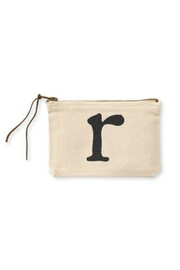 MUDPIE R Cosmetic Bag - Front cropped