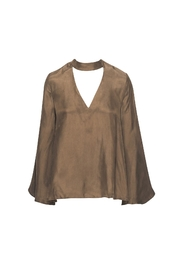 R+D Hipster Emporium  Neck Holder Top - Front cropped