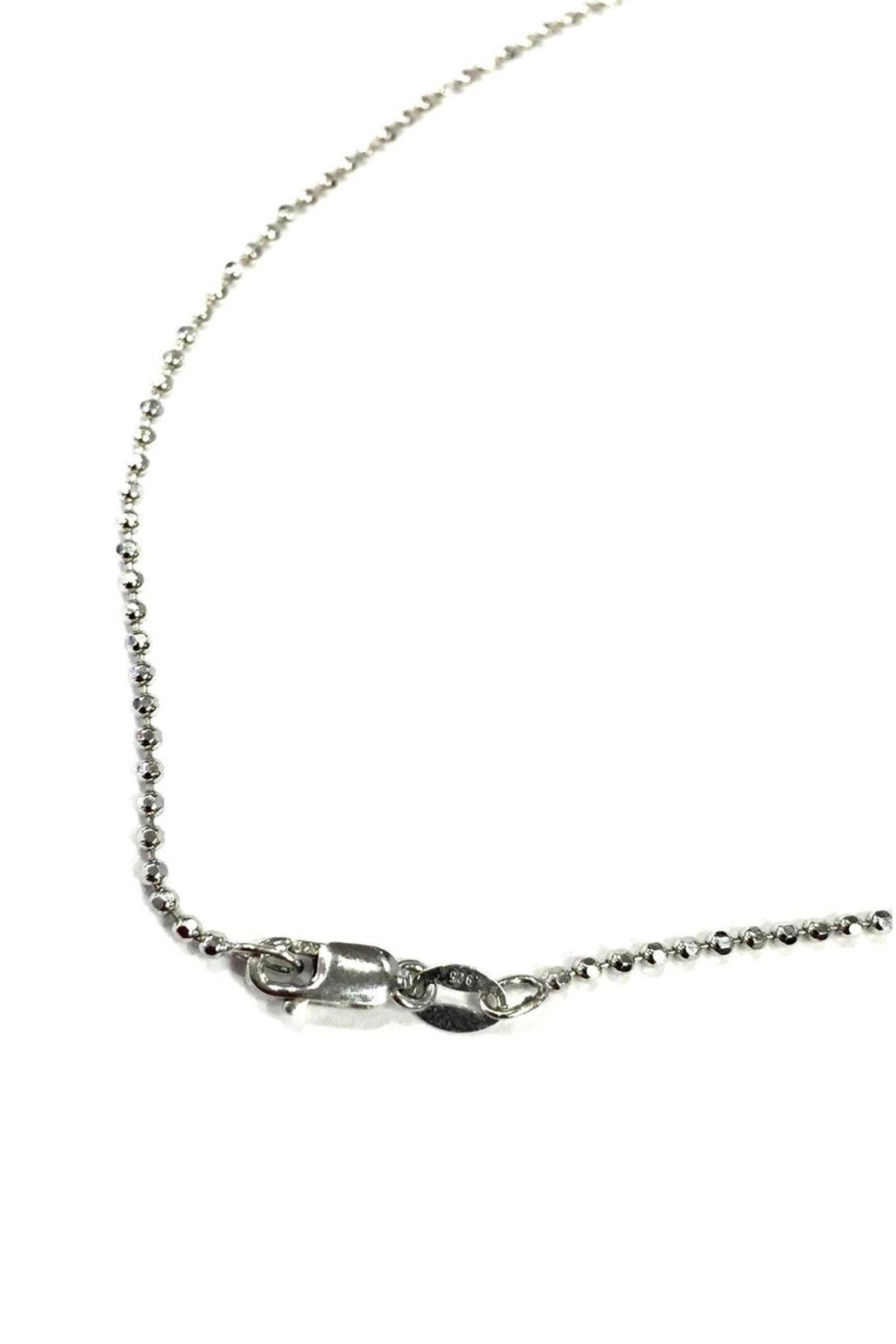 Alex Woo R Initial Necklace - Front Full Image