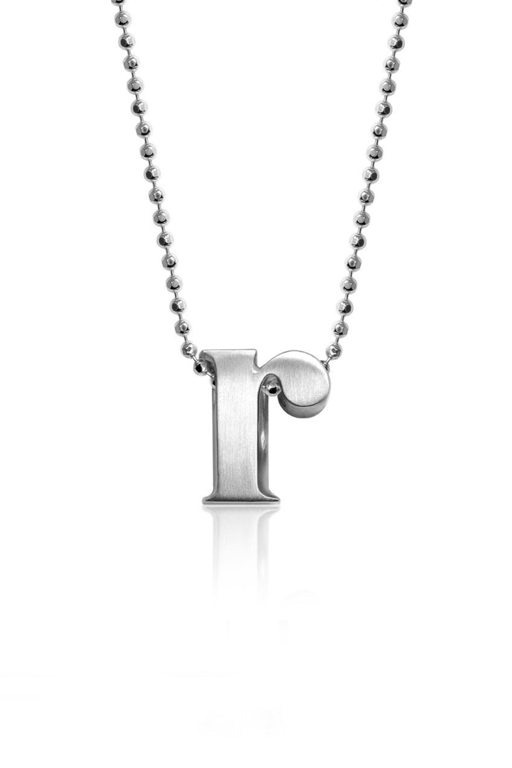 Alex Woo R Initial Necklace - Main Image