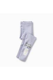 Tea Collection Raccoon Cozy Leggings - Side cropped