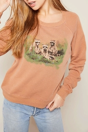 All Things Fabulous Raccoons Favorite Sweatshirt - Product Mini Image