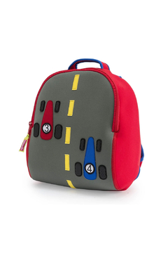 Dabbawalla Race Car Backpack - Product List Image