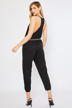 R+D Racer back Knit Jumpsuit - Alternate List Image