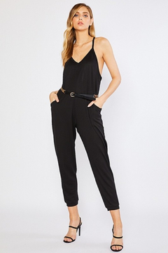 R+D Racer back Knit Jumpsuit - Product List Image