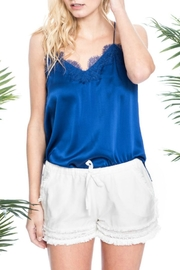 Cami NYC Racer Charmeuse Azure - Product Mini Image
