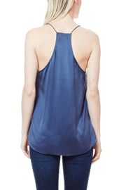 Cami NYC Racer Charmeuse Mercury - Front full body