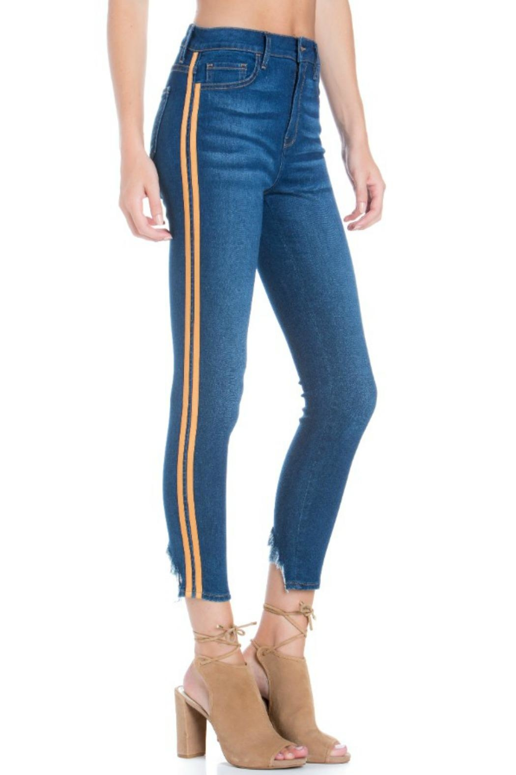 fea58ebd37 Cello Jeans Racer Stripe Skinny from Las Vegas by R+D — Shoptiques