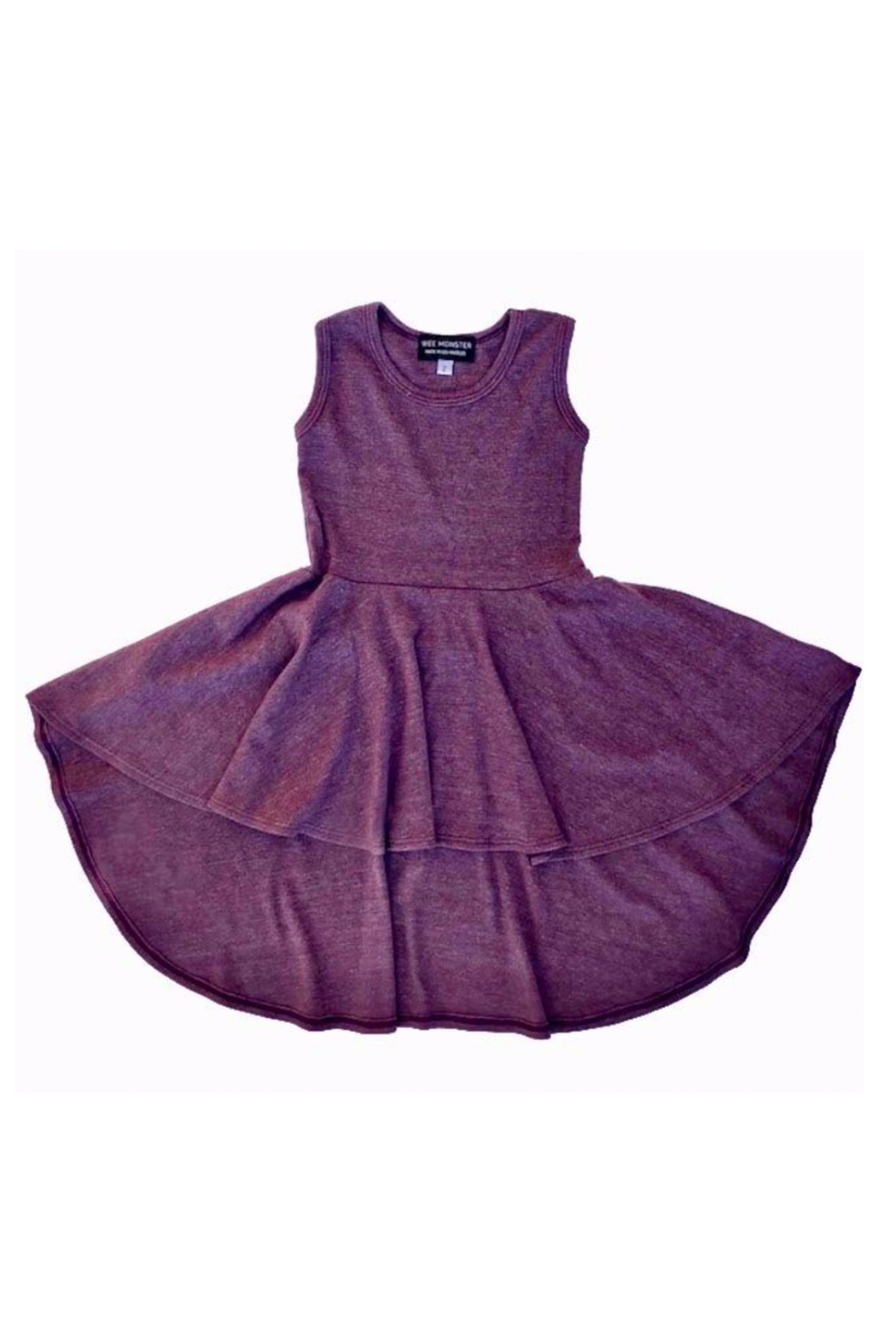 Wee Monster Racerback Circle Dress - Front Cropped Image