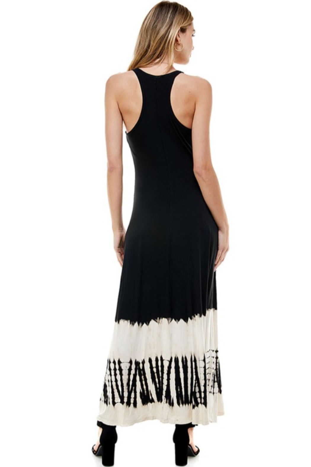 T-Party  Racerback Knit Maxi Dress - Side Cropped Image