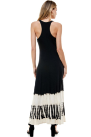 T-Party  Racerback Knit Maxi Dress - Side cropped