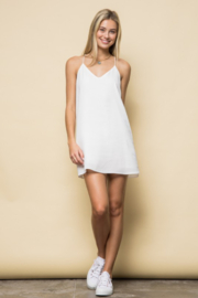 Style Rack Racerback White Mini - Front cropped