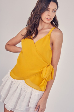 Do + Be  Racerback Wrap Top - Product List Image