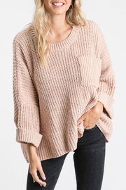 Rachael Wide-Sleeve Boxy Sweater - Product Mini Image