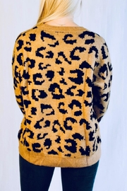 Racheal Brown Cheetah Sweater - Side cropped