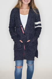 Racheal Cable Knit Cardigan - Product Mini Image