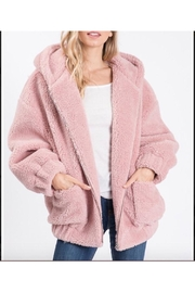 Racheal Faux Fur Hooded Jacket - Product Mini Image