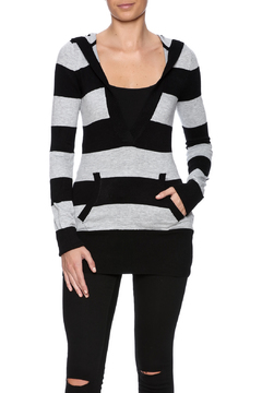 Rachel Kate Striped Pocket Sweater - Product List Image