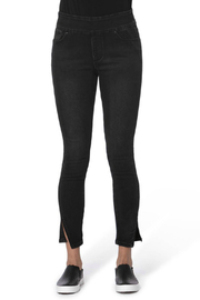 Lola Jeans Rachel Pull on Split Hem Ankle Jean - Product Mini Image