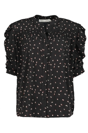 Bishop + Young Rachel Ruched Sleeve Blouse - Front full body