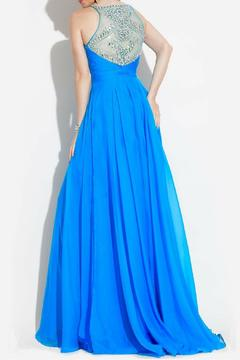 Rachel Allan Chiffon Gown - Alternate List Image