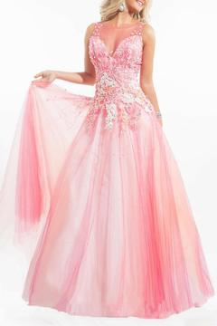 Rachel Allan Dropped Waist Ball Gown - Alternate List Image