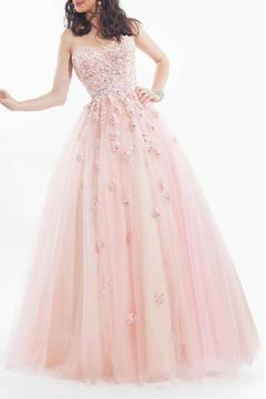 Rachel Allan Strapless Ball Gown - Product List Image