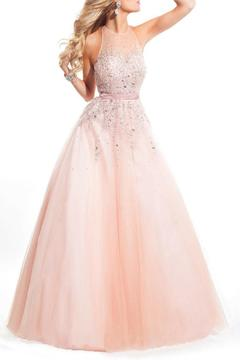 Rachel Allan Tulle A-Line Ball Gown - Product List Image
