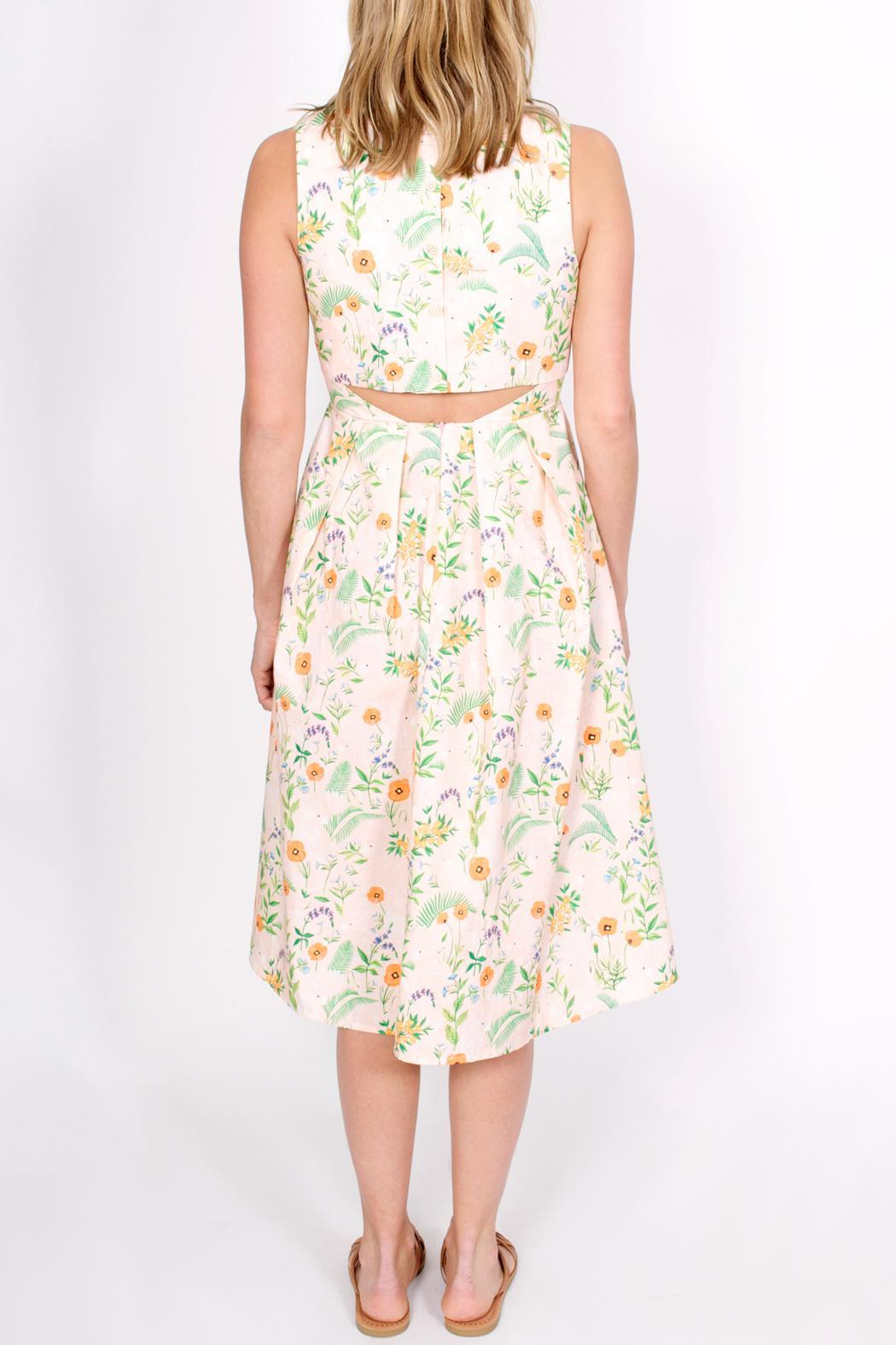 Rachel Antonoff Daniel Dress Side Cropped Image