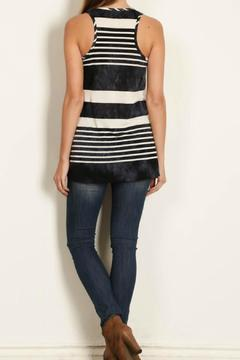 Shoptiques Product: Tiedie Stripe Anchor Tunic
