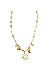 Rachel Reinhardt Moon Charm Necklace - Product Mini Image