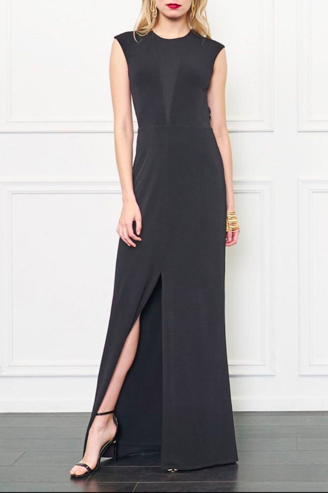 Rachel Zoe Amara Open Back Gown - Main Image