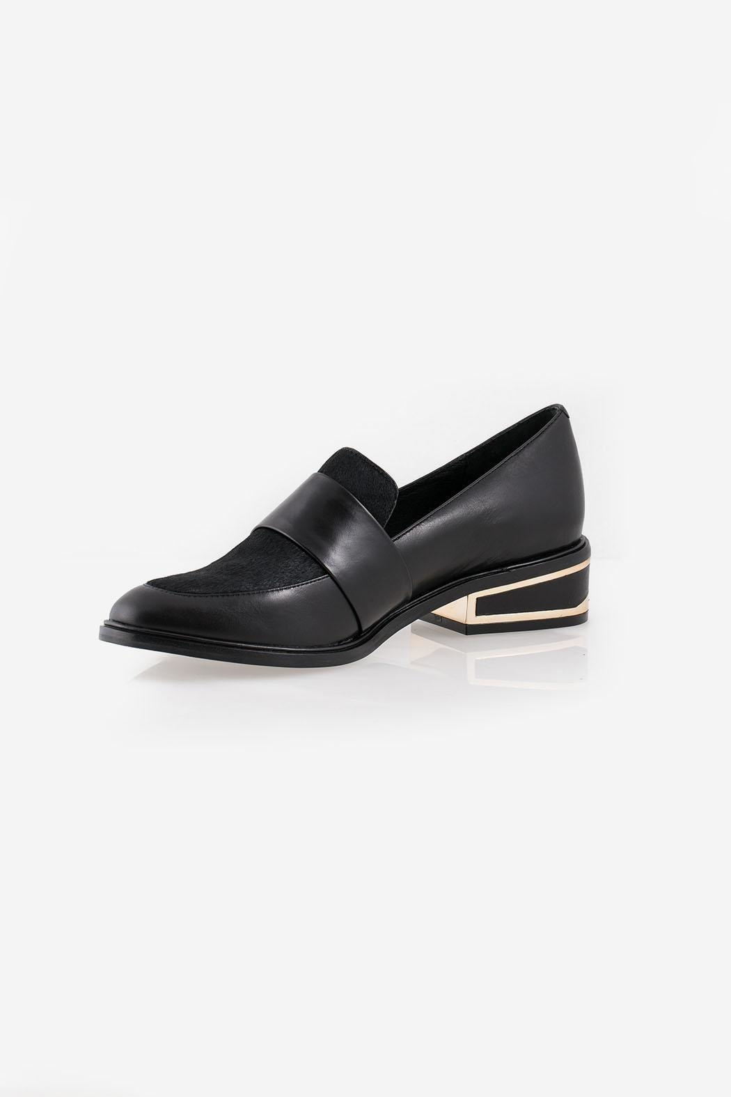 Rachel Zoe Bianca Calf Loafers - Front Cropped Image
