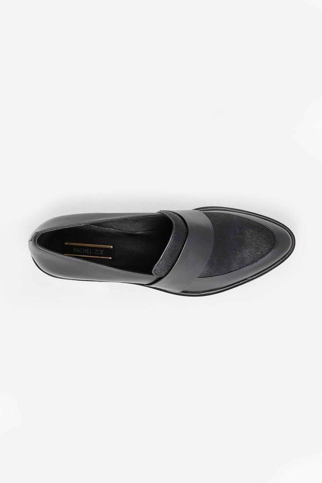 Rachel Zoe Bianca Calf Loafers - Back Cropped Image