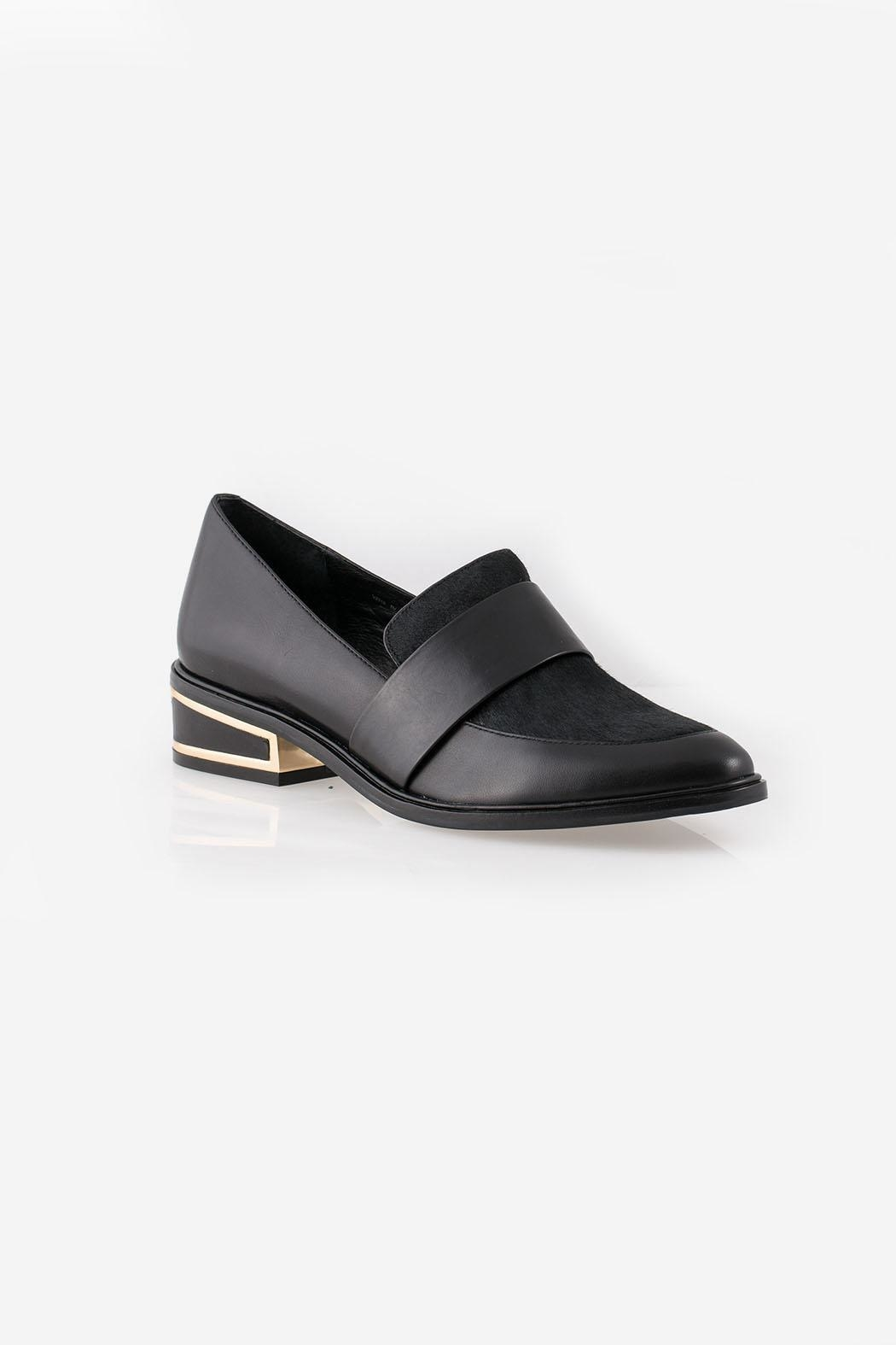 Rachel Zoe Bianca Calf Loafers - Side Cropped Image