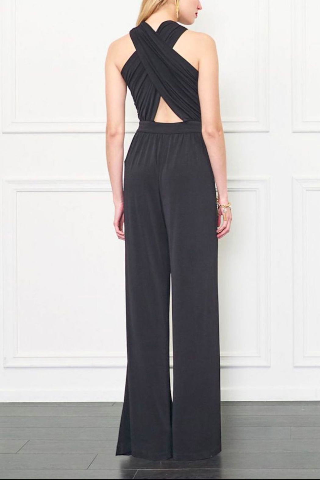 Rachel Zoe Criss Cross Jumpsuit - Back Cropped Image