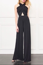 Rachel Zoe Criss Cross Jumpsuit - Front cropped