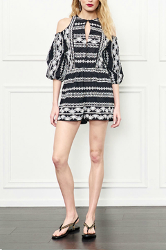 Rachel Zoe Embroidered Romper - Product List Image