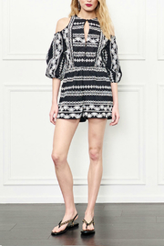Rachel Zoe Embroidered Romper - Product Mini Image