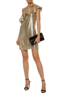 Shoptiques Product: Gold One Shoulder