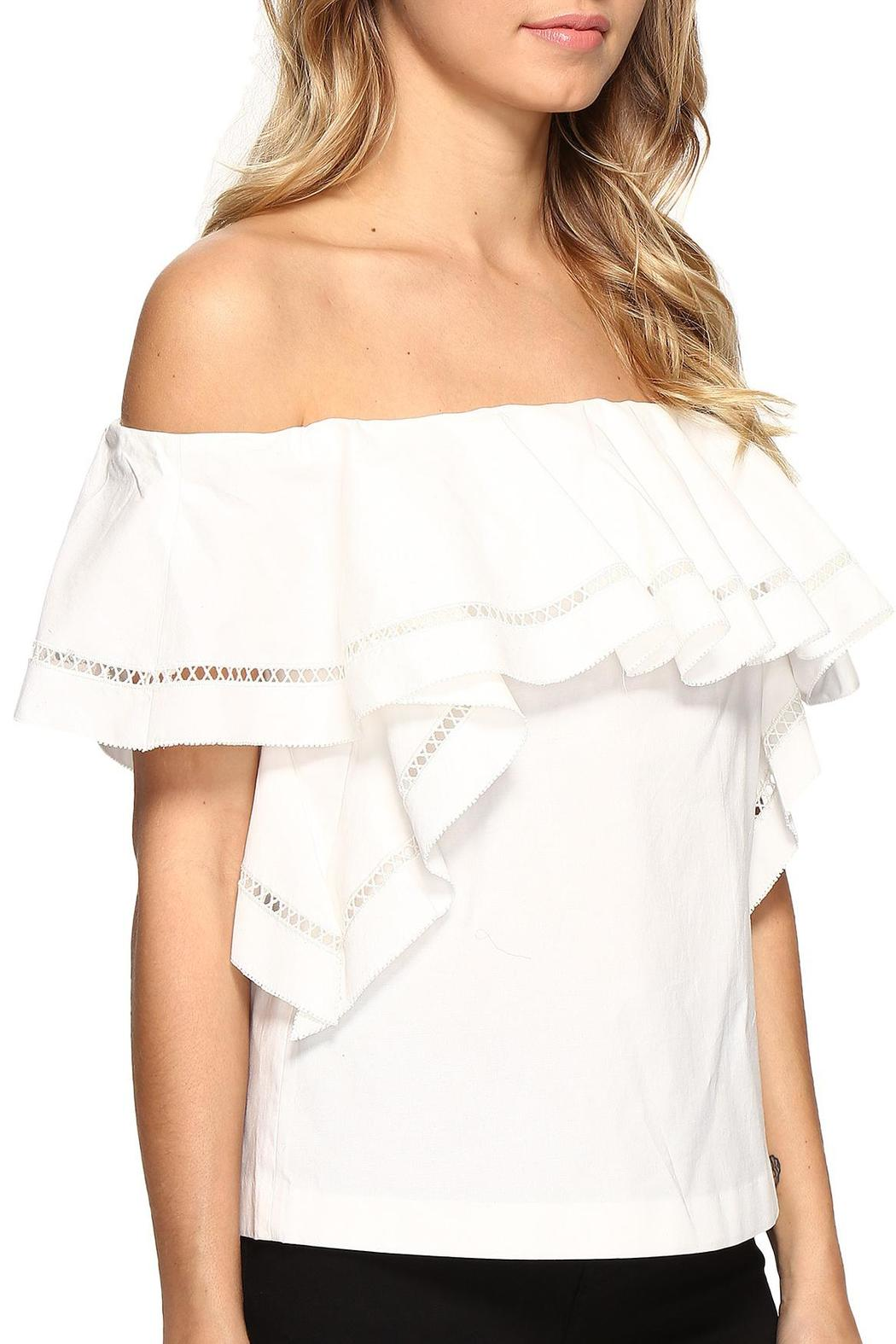 b37481506c3 Rachel Zoe Leanna Off The Shoulder Top from Dallas by Pax & Parker ...