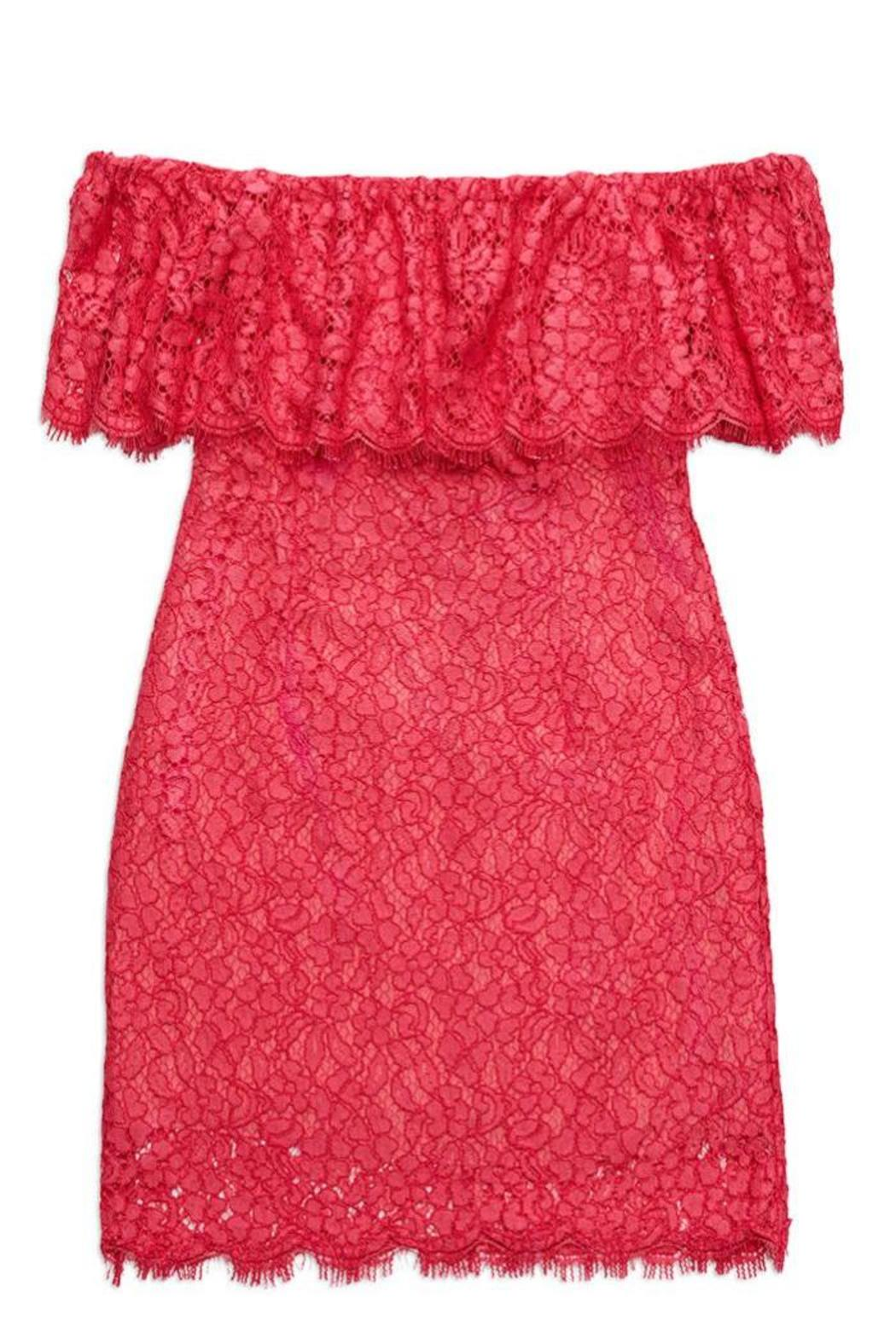 6b1a67962d02 Rachel Zoe Off Shoulder Lace Dress from Back Bay by Max   Riley ...