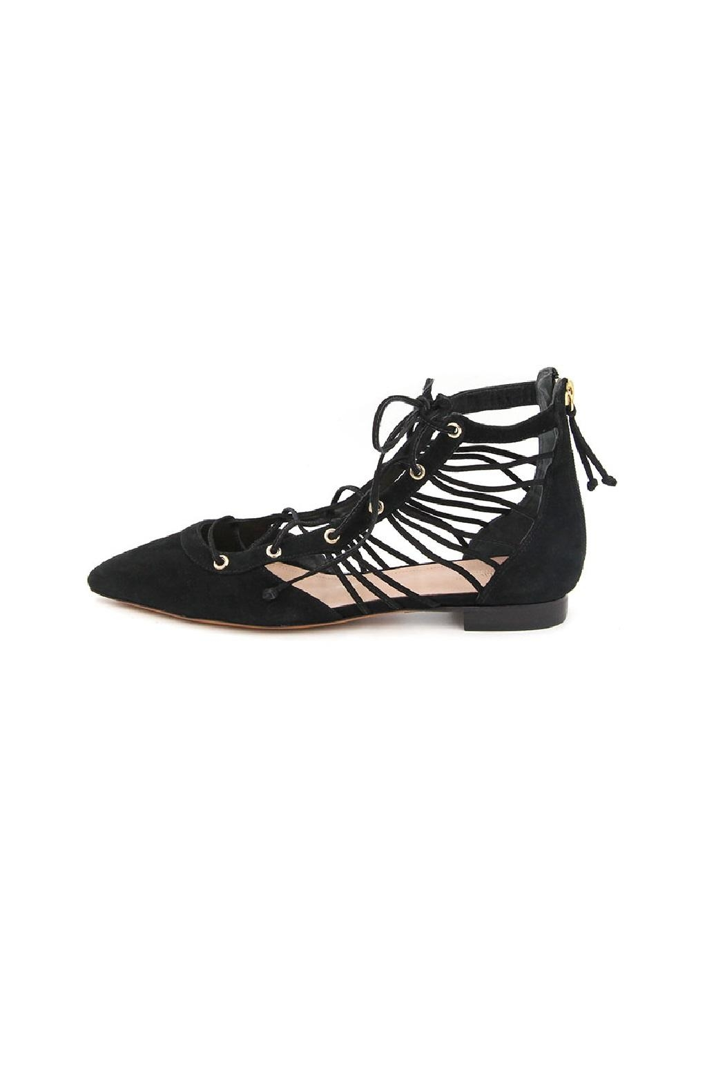 Rachel Zoe Renae Lace Up Flats - Main Image