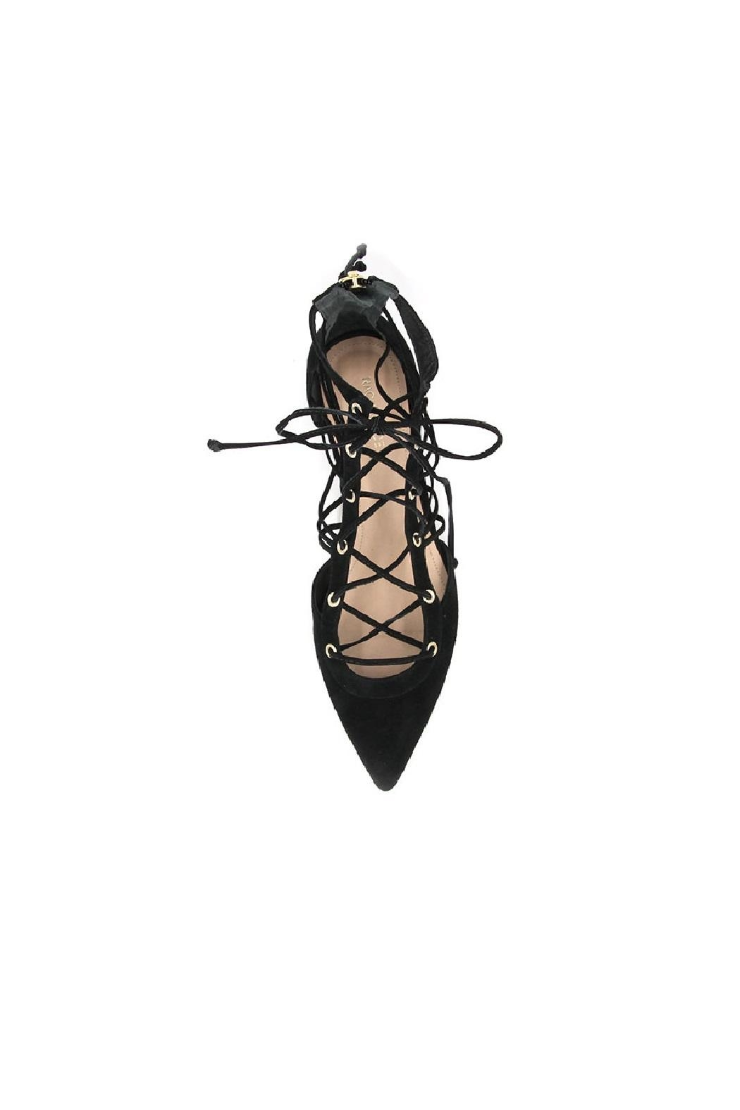 Rachel Zoe Renae Lace Up Flats - Front Full Image