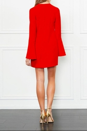 Rachel Zoe Ruffle Mini Dress - Front full body