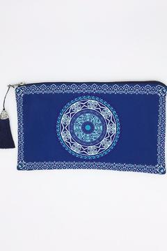 Shoptiques Product: Blue Diamond Clutch