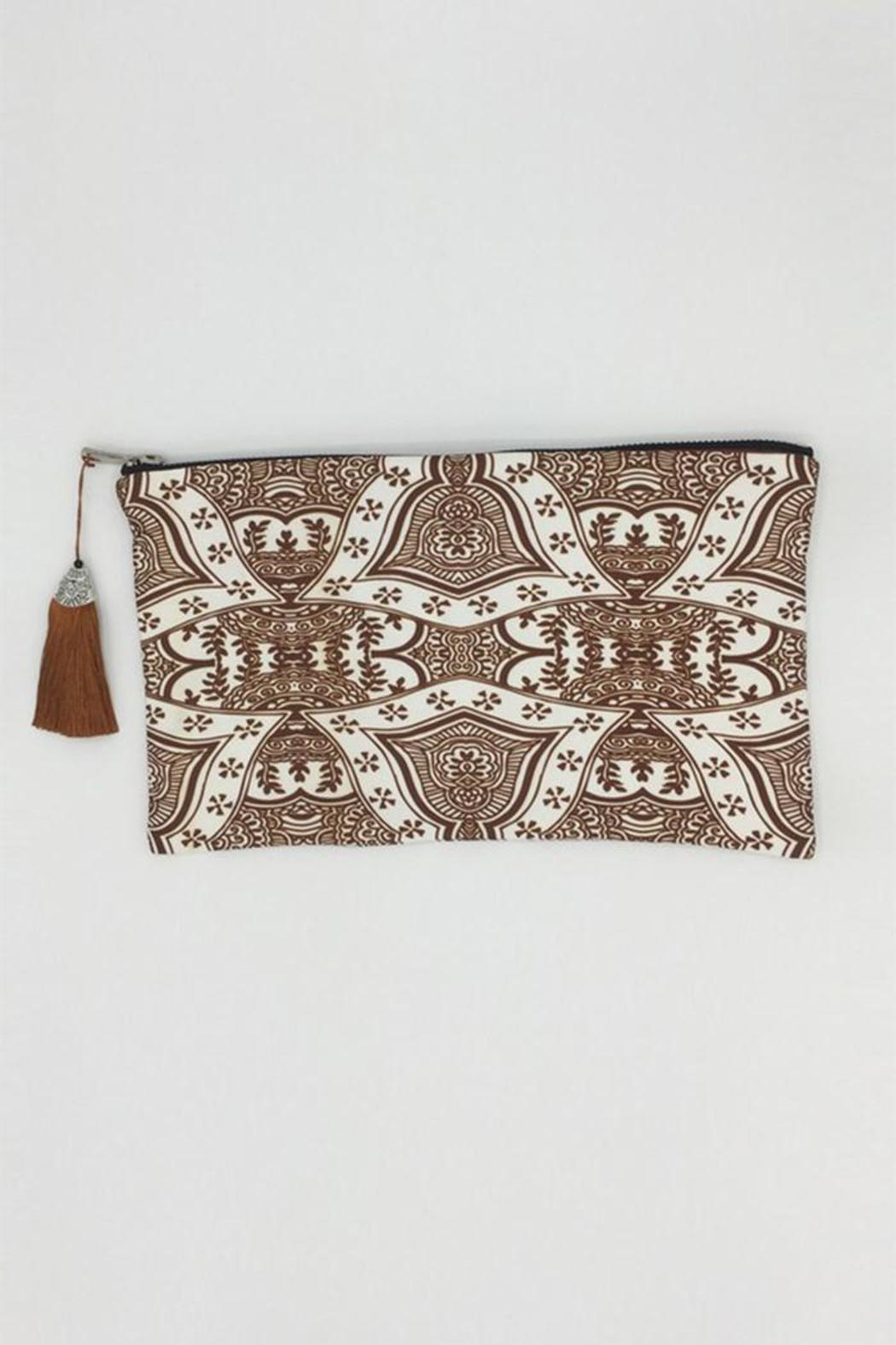 Racine Boho Clutch Bag - Main Image
